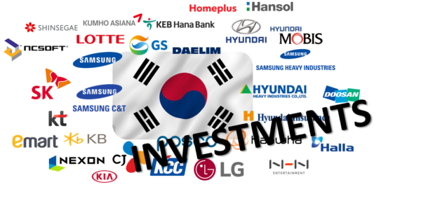 Investments from Korea